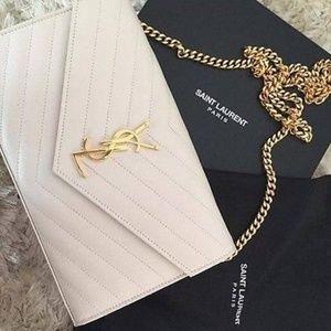 Yves Saint Laurent Monogram Matelasse Shoulder B
